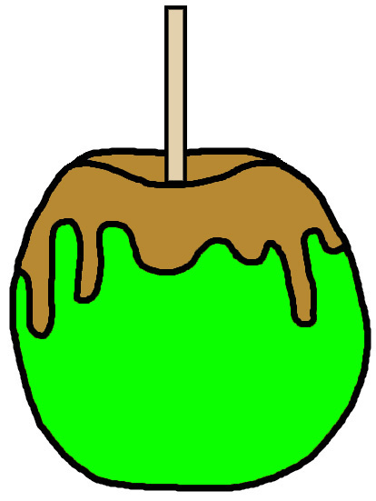 Candy Apple Clipart 6